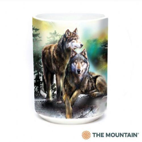Wolf Lookout Ceramic Mug | The Mountain®
